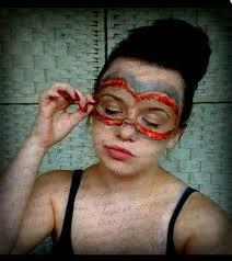 skin mask halloween masquerade mask halloween sfx makeup youtube