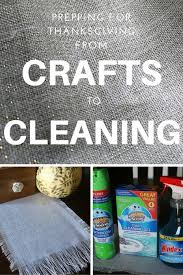 prepping for thanksgiving from crafts to cleaning the crafty