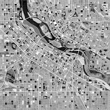Minnesota Map Minnesota Map Art Fine Art America