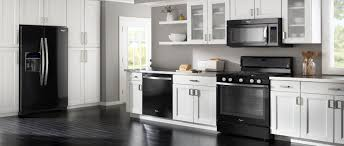 white kitchen cabinets with black slate appliances the best appliance finishes of 2017 appliances connection