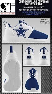 dallas cowboys nike roshe one shoes dallas cowboys footwear