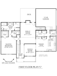 3 Bedroom 2 Story House Plans House Plan 2675 C Longcreek