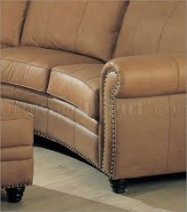 Leather Upholstery Sofa Leather Upholstery Sectional Sofa W Nail Design
