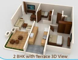 840 sq ft 2 bhk 2t apartment for sale in kk group mumbai crystal