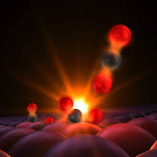 scientists get first glimpse of a chemical bond being born slac