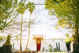 palm springs wedding venues playful mid century palm springs wedding michael green