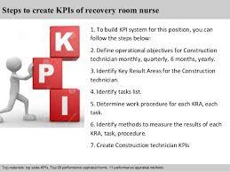 recovery room nurse recovery room nurse kpi