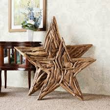 star decor for home amazon com natural driftwood branch star home wall decor home