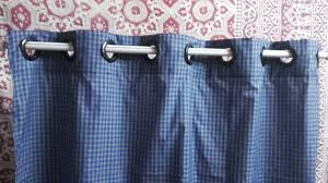 How To Sew Curtains With Grommets How To Sew Grommet Top Curtain Eyelet Curtains Youtube