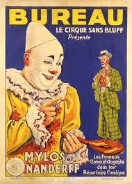cirque bureau poster bureau le cirque sans bluff presenté mylos nenderff les