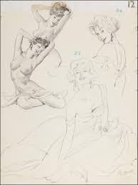 al buell sketches al buell pin up sketches pinterest