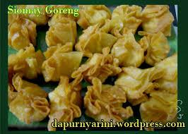 membuat isi siomay siomay goreng my cuisine