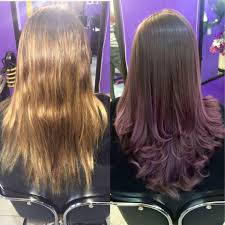 hair rebonding at home my purple place salon hair rebonding treatment center home