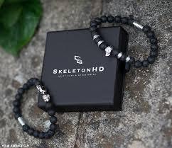 bracelet review images Skeleton hd outlaws silver twin skull bracelet review your jpg