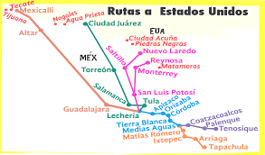 Map Of Southern Usa map of southern us and mexico map entrancing southern mexico map