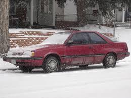 subaru loyale 1990 down on the mile high street subaru gl hatchback coupe the