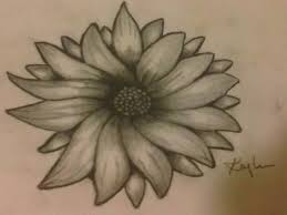 sunflower sketch by kaykay18tink on deviantart