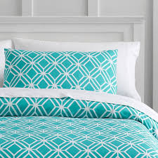 diamond geo duvet cover sham pbteen pertaining to awesome house
