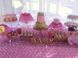 tutu baby shower decorations tutu and tiara ba shower ba shower ideas themes with regard
