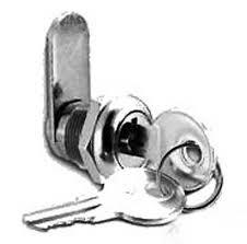 cabinet keyed cam lock 2 cam locks cabinet door drawer tool box rv panel 7 8 keyed alike
