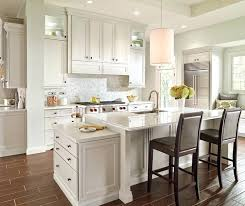 Hardwood Floors With White Cabinets White Cabinets With Black Appliances Opinions Kitchen Islands