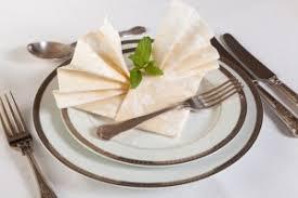 how to fold napkins for a wedding wedding napkins fold and colour ottawa wedding magazine