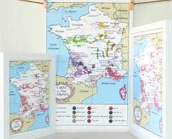 Wine Map Of France by Burgundy Wine Map Burgundy Wine Map