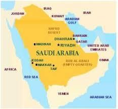 rub al khali map a visit to shaybah in the kingdom of saudi arabia