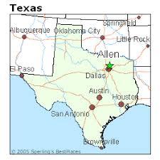 map of allen best places to live in allen