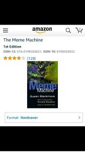 The Meme Machine Susan Blackmore - the meme machine 1st edition isbn 13 978 0198503651 isbn 10