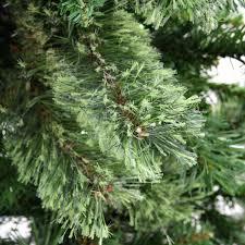 4 ft noble fir artificial tree unlit layered 1