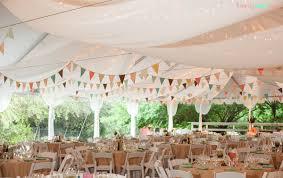 guirlande fanion mariage décoration du plafond du mariage