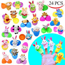 easter egg stuffers 24 pieces 2 3 8 finger puppet easter eggs for easter theme party