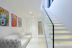 glass stair railing glass factory nyc