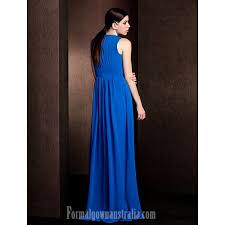 royal blue chiffon bridesmaid dresses floor length chiffon bridesmaid dress royal blue plus sizes