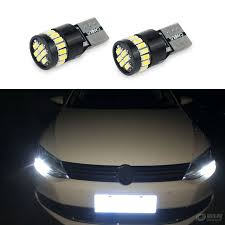 trail of lights parking 2x t10 w5w led car canbus parking clearance lights for nissan