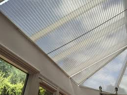 solving heat and glare issues with blind conservatory