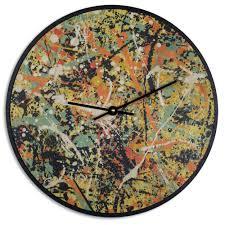 Art Wall Clock by Wood Wall Clock Art Prints Antler Home