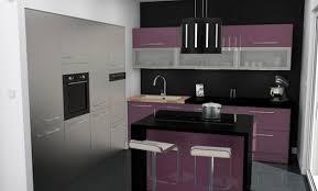 cuisine mur aubergine cuisine aubergine et gris amazing amnagement du salon proposition