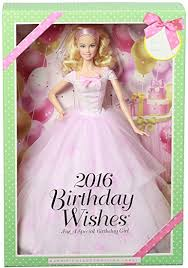 amazon barbie birthday wishes 2016 barbie doll blonde toys