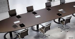 Large Oval Boardroom Table Meeting Tables Multipli Ceo Leather Table Fantoni Uk