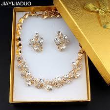 wedding jewelry necklace sets images Jiayijiaduo elegant wedding jewelry set for women bridal jewelry jpg