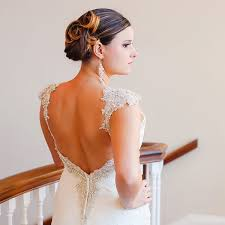 wedding hairstyles for hair 25 wedding hairstyles for brides with hair huffpost