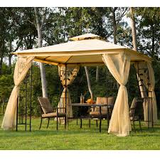 12x12 Patio Gazebo by Patio Gazebo In The Middle Of The Park Furniture Design Ideas