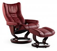 Recliner Chair With Ottoman Stressless Wing Classic Recliner U0026 Ottoman From 2 295 00 By