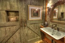 Powder Room Sink Rustic Powder Room With Barn Door U0026 Powder Room Zillow Digs Zillow