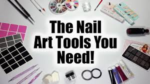 the nail art tools you need a nail art guide for beginners youtube