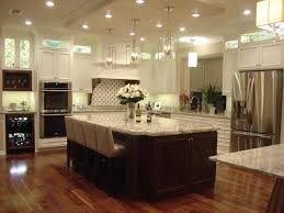 kitchen room design large kitchen island breakfast bar table