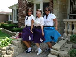 handmade custom retro poodle skirts 50 u0027s sock hop circle skirts