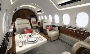 private jets to have more spacious and luxurious interior with eye